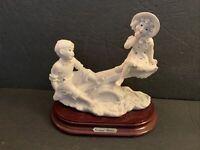 Capodimonte Giuseppe Armani Florence 1993 L'altalena On The See-Saw Figurine VTG