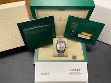 Rolex Datejust Silver Women's Watch - 126234