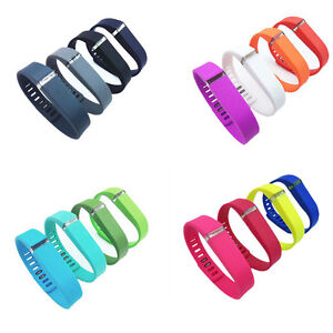 10pcs Replacement Wrist Band Wristband for Fitbit Flex with Clasps NoTracker TR
