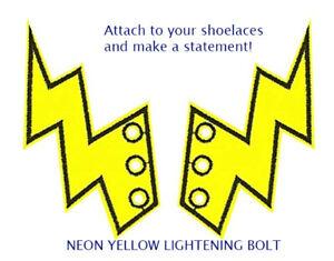 Schwings Neon Yellow Lightening Bolt