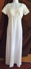 Fiesta Formal Gown Juniors White Confirmation / Communion Gown (XS)  (Dress 2)