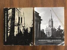 Sixteenth Street Architecture Volume 1 & 2 by Kohler and Carson Washington DC