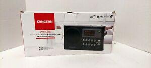 SANGEAN WFR-28 INTERNET RADIO~NETWORK MUSIC PLAYER~USB/FM~RDS DIGITAL RECEIVER