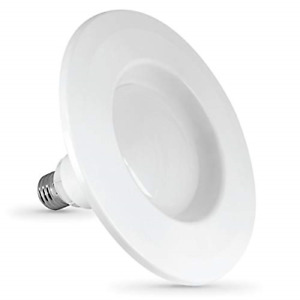 "Feit Electric LEDR56/927CA/MED/2 5/6"" LED 27K INSTATRIM 2PK, 5 6 Inch 65 Watt, 2"
