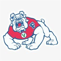 Fresno State Bulldogs NCAA DieCut Vinyl Decal Sticker Buy 1 Get 2 FREE