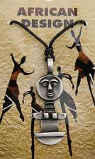 Collier pendentif poupee Ashanti fetiche de fertilite / AD1-6045