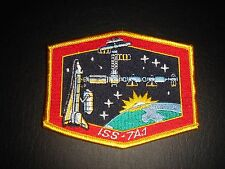 NOS NASA SPACE SHUTTLE ERA INTERNATIONAL SPACE STATION ISS-7A.1 IRON ON PATCH