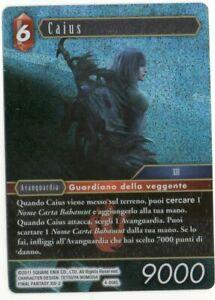 Final Fantasy TCG FOIL Caius Opus IV 4-006L ITA Mint