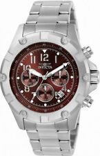 Invicta Specialty 13615 Men's Round Brick Red Chronograph Date Analog Watch