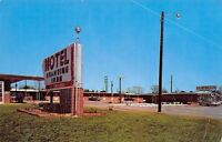 Troy Alabama~Branding Iron Motel~1967 Postcard