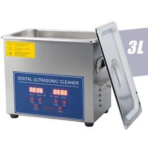 3L Ultraschallreinigungsgerät Ultraschallreiniger Ultrasonic Cleaner NEU
