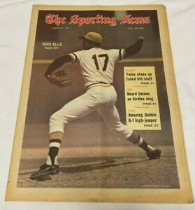 August, 21, 1971 The Sporting News---Pirates Dock Ellis    VG