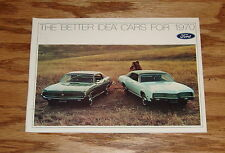 Original 1970 Ford Lincoln Mercury Full Line Sales Brochure 70 Mustang Cougar