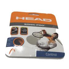 HEAD Sonic Pro Black 17g 40ft tennis string polyester racket racquet - Control