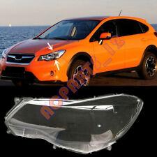 For Subaru XV 2012-2016 Left Side Headlight Cover Transparent PC + Glue Replace