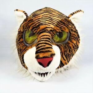 Dan Dee Tiger Head Mascot Furry Mask Adult Costume Cosplay Big Greeter Heads
