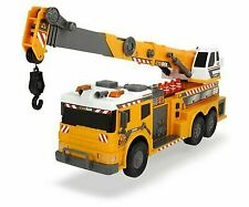 Dickie Toys 24 Light and Sound Construction Crane Truck (with Moving Ladder)
