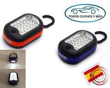 Linternas de color principal naranja LED para acampada y senderismo