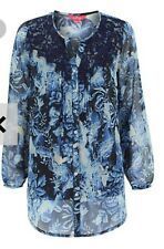 B 208# Together Print Blouse Size UK16 RRP£49