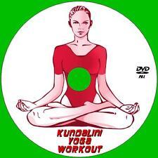 KUNDALINI YOGA MEDITATION WORKOUT DVD FLEXIBILITY STRESS RELIEF RELAXATION NEW