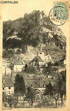 CPA 39 Jura Salins-les-Bains Fort Belin Eglise Saint-Anatoile