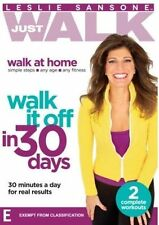 Leslie Sansone: Just Walk it Off in 30 Days NEW DVD fitness exercise REGION 4