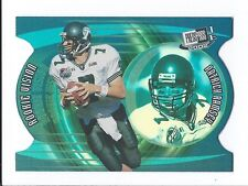 Patrick Ramsey 2002 Press Pass JE Rookie Vision Card #9; NM-Mint; Tulane