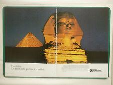 4/1985 PUB PRATT & WHITNEY JT8D ENGINES EGYPTE PYRAMIDE SPHINX FRENCH AD