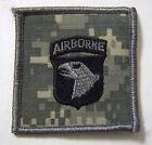 101st AIRBORNE DIVISION DIGITAL CAMO HELMET PATCH