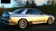 Carbon Fiber For NISSAN Skyline R32 GTR Eastbear Side Skirt Spat Addon 2PCS Kits
