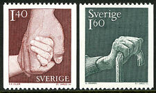 Sweden 1321-1322, MNH. Health Insurance. Care for the Elderly, 1980