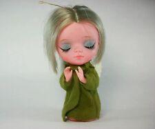 Vtg. 1967 Kamar Japan PRE BLYTHE Big Eyed Doll angel Christmas ornament