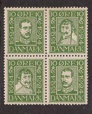 Kappysstamps Id3203 Denmark Block 164-7 Mint Hinged Cats 37.50