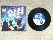 Star Wars The Empire Strikes Back Book and Record 33 1/3 Rpm