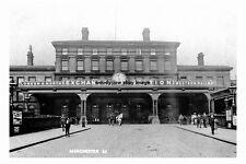 pt2828 - Exchange Railway Station , Manchester , Lancashire - photo 6x4