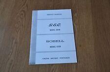 GEC G816 Sobell S316 AM / FM Battery Portable Transistor Radio Service Manual