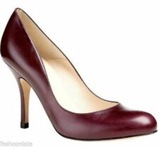 L.K. Bennett Leather Court Heels for Women