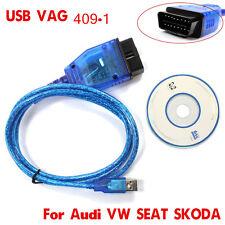 FTDI FT232RL VAG COM KKL 409.1 OBD2 K-Line KWP2000 ISO9141 USB FOR VW/AUDI/SEAT