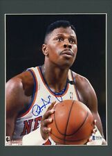 Patrick Ewing 8x10 Glossy Photo Matted Framed Signed Autographed Beckett