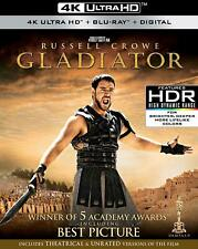 Gladiator (4K Ultra HD + Blu-ray + Digital HD)(slipcase) NEW SEALED