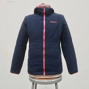 Patagonia Nano Air Hoody Jacket Womens Size L Navy 84265