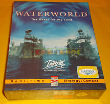 WATER WORLD THE QUEST FOR DRY LAND Pc Ver Italiana 1ª Ediz Big Box ○○ NUOVO - CH