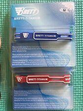2 ION Titanium Power Balance Sports Bracelets Ionic Energy Medium (Blue and Red)