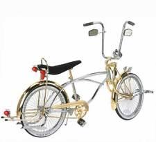 Original Gangster Chrome MuffIer Beach Cruiser Chopper Lowrider Bike NEW!