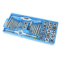 New 40pc Tap and Die Set METRIC Thread Renewing Tools