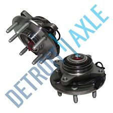 SET: 2 New FRONT Driver and Passenger Wheel Hub Bearing - w/ ABS - 4x4, 7 STUD
