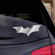 "DC Comics Batman Begins - Vinyl Shiny Chrome Decal Sticker 6"" x 2"" - FREE S&H"