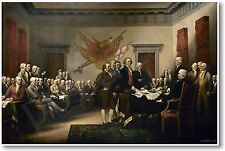 John Trumbull 1819 - Declaration of Independence - NEW Fine Art Print POSTER