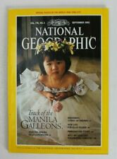 National Geographic September 1990 - Track Of The Manila Galleons