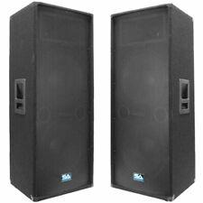 Seismic Audio Pair Dual 15